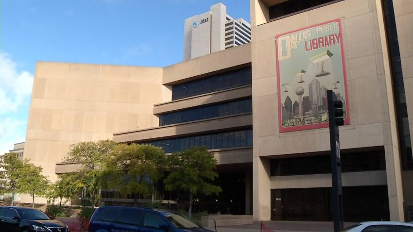 Dallas Library Dallas Morning News