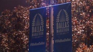 Dallas Marathon Signs
