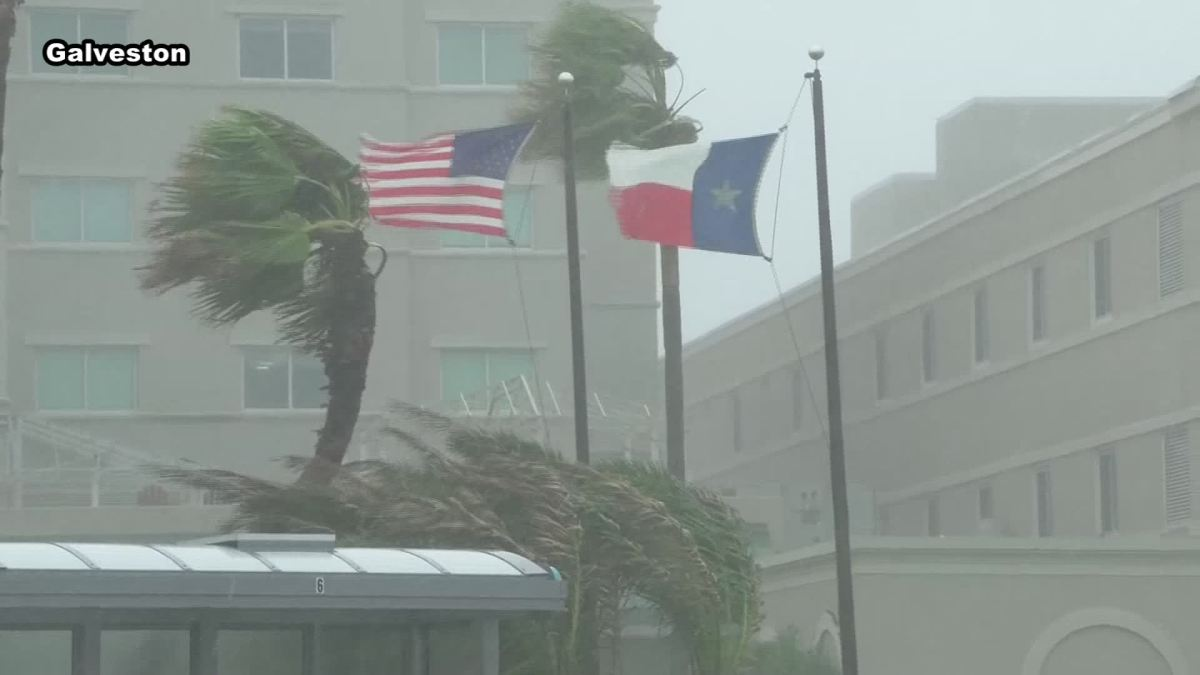Wind And Rain From Harvey Starting To Hit Texas Nbc 5