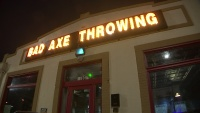 Axe Throwing Latest Sport to Sweep Country