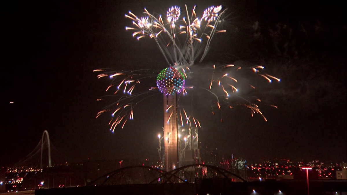 North Texas Rings In 2020 With Impressive Fireworks Show