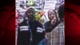 Suspects Using Stolen Credit Cards