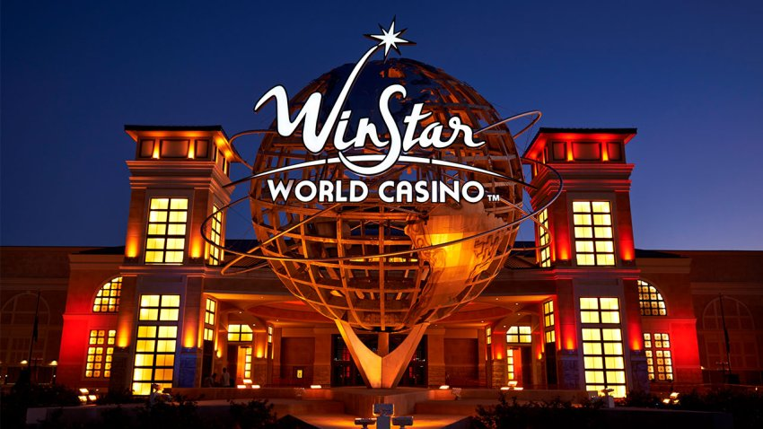WinStar World Casino and Resort is located along the Texas-Oklahoma border, about 70 miles north of Dallas.