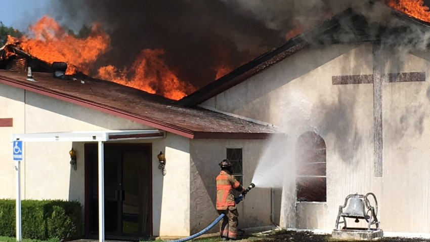 wise county church fire