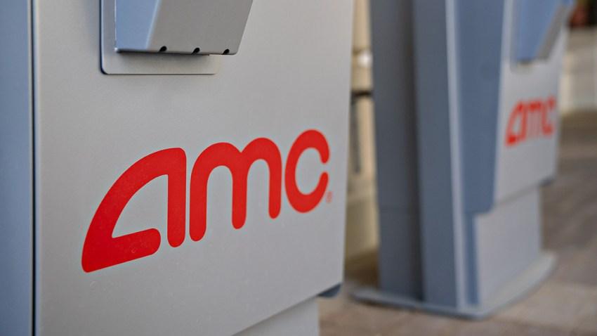 An AMC ticket vending machine