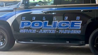 Picture of a Keller Police car