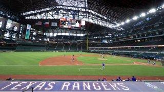 Texas Rangers Summer Workouts