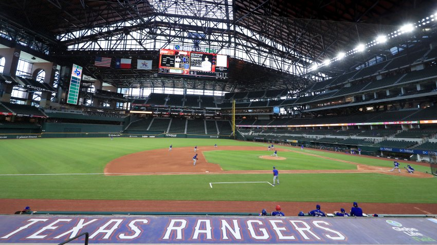 Texas Rangers Summer Workouts