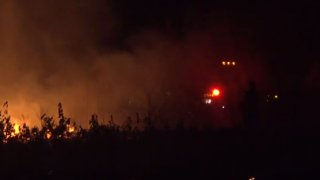 At approximately 3:36 a.m., Dallas Fire-Rescue responded to a call for a grass fire in field near Singleton and North Walton Walker boulevards in West Dallas.