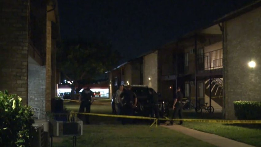 First responders were called about 9 p.m. to the Whispering Run Apartments in the 600 block of Bellaire Drive, where a man had been shot and killed in an apartment.