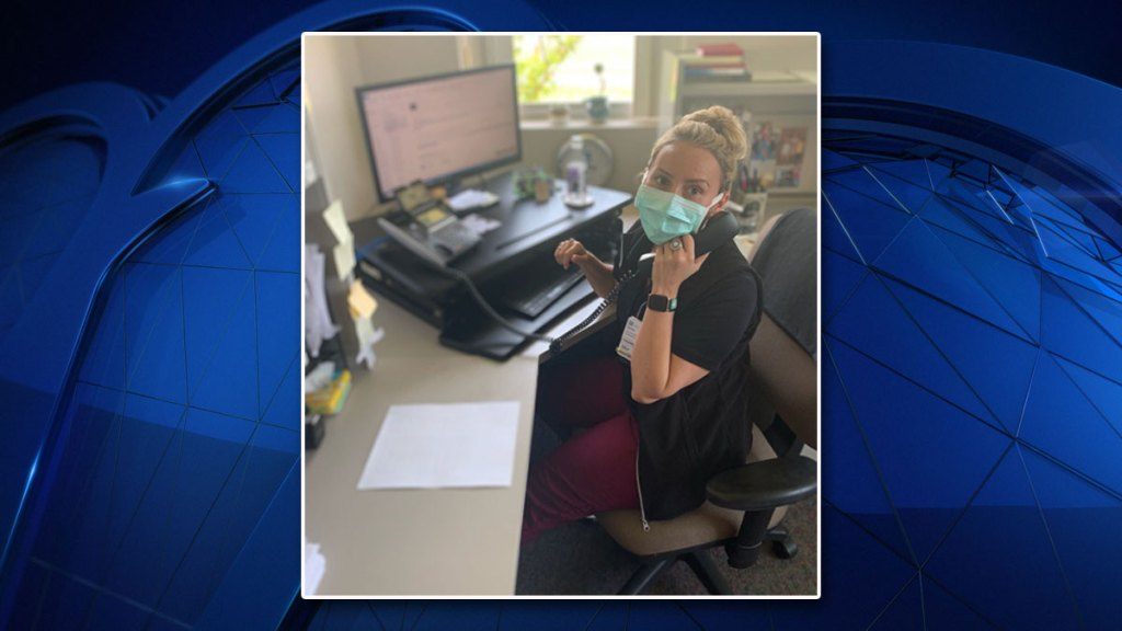 Nurses at John Peter Smith Hospital in Fort Worth, Texas have kept up with some COVID-19 patients by making multiple phone calls per day.