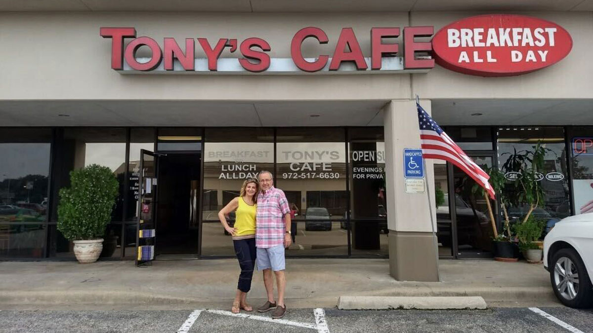 Tony's Cafe in Plano Closes for Good Due to Losses Suffered During Pandemic