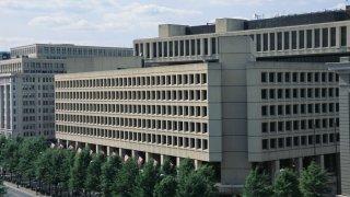 File photo of the Federal Bureau of Investigation headquarters in Washington, D.C.