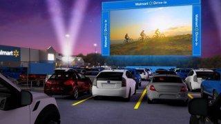 Walmart Drive-in Cinema