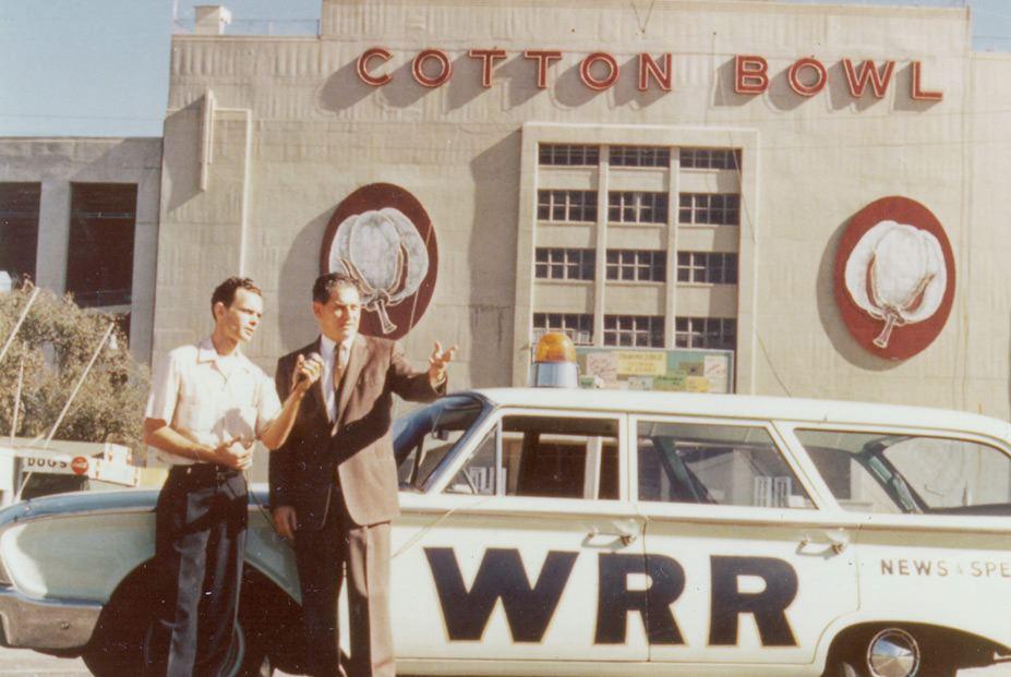 WRR station wagon at Fair Park