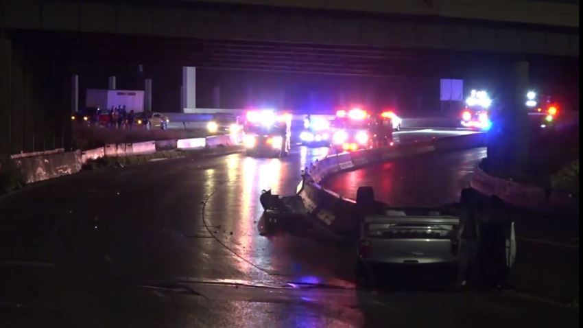 At about 3:40 a.m., Canessia Griffin had been standing outside her vehicle between the Interstate 35 E split with U.S. Highway 67 helping the family members.
