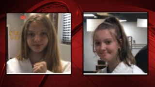 The Texas Department of Public Safety has issued an Amber Alert for two girls from Palo Pinto County.