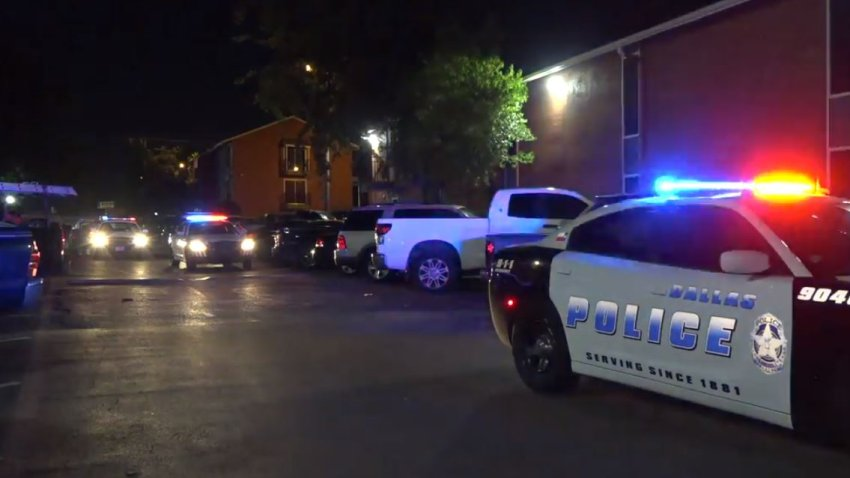 Officers responded at 1:18 a.m. to the Villas Del Solamar Apartments in the 8300 block of Park Lane, where a male was dead from a gunshot wound. The shooting was one of five overnight in the city.
