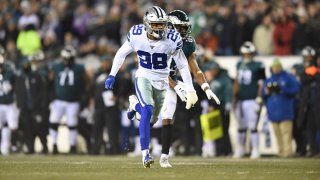 Dallas Cowboys Cornerback C.J. Goodwin (29) rushes during the game between the Dallas Cowboys and the Philadelphia Eagle on Dec. 22, 2019, at Lincoln Financial Filed in Philadelphia, Pennsylvania.