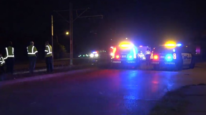 A pedestrian was fatally struck by a Dallas Area Rapid Transit train Friday night in east Oak Cliff, according to the agency.
