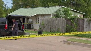 Fort Worth police say a woman found dead in a house fire in the Como neighborhood was the victim of a homicide.