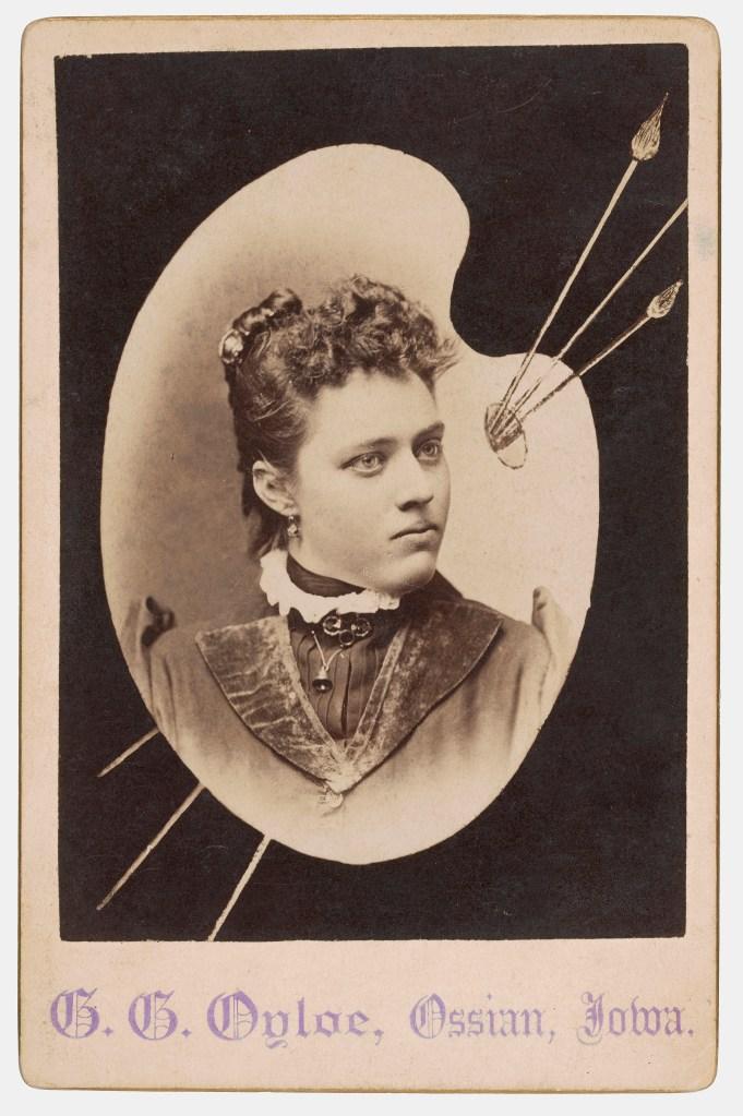 Gilbert G. Oyloe cabinet card