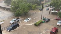 Storms Bring Flash Flooding to Denton