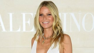 In this July 3, 2019, file photo, Gwyneth Paltrow attends the Valentino Haute Couture Fall/Winter 2019 2020 show as part of Paris Fashion Week in Paris, France.