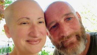 Kara DuBois and husband Chuck Elliott