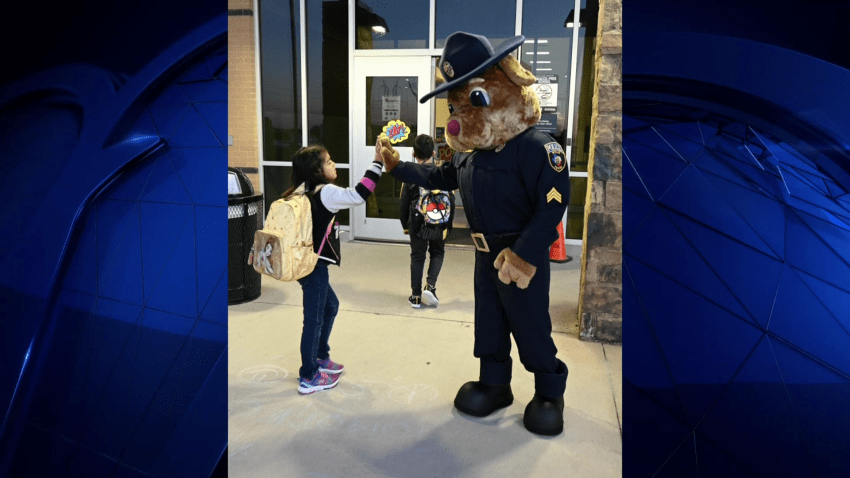 Wylie Department Welcomes New Mascot
