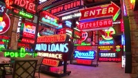 Check Out Arlington Man's Massive Neon Sign Collection