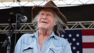 In this July 4, 2019, file photo, singer-songwriter Billy Joe Shaver performs onstage during the 46th Annual Willie Nelson 4th of July Picnic at Austin360 Amphitheater in Austin, Texas.
