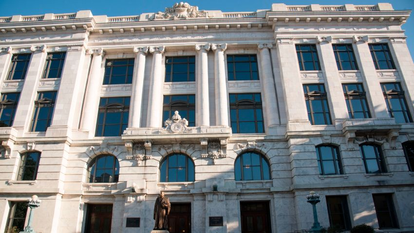 Exterior of Louisiana Supreme Court Building, New Orleans