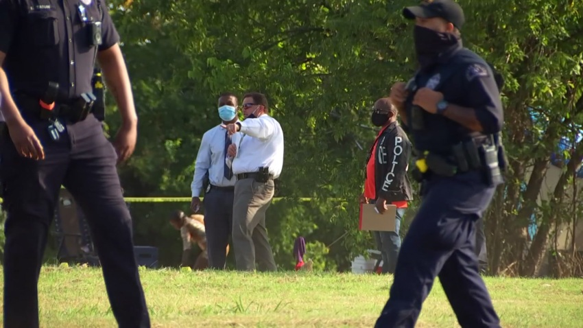 A male has died after he was found with gunshot wounds Friday afternoon in an open field, Dallas police say.