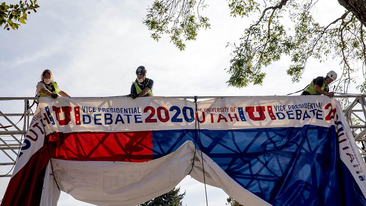 Mike Pence and Kamala Harris VP Debate Will Have Plexiglass Barrier Because of Coronavirus Concerns – NBC 5 Dallas-Fort Worth