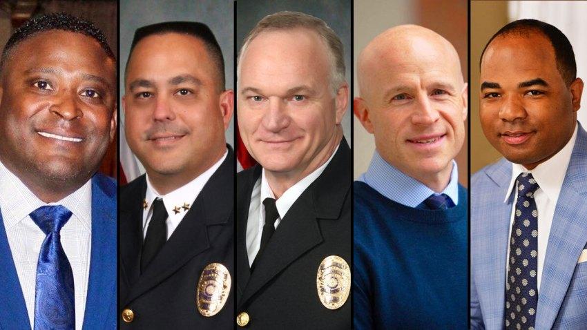 five finalists headshots