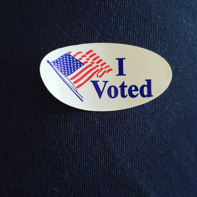 North Texans Proud to Say 'I Voted'