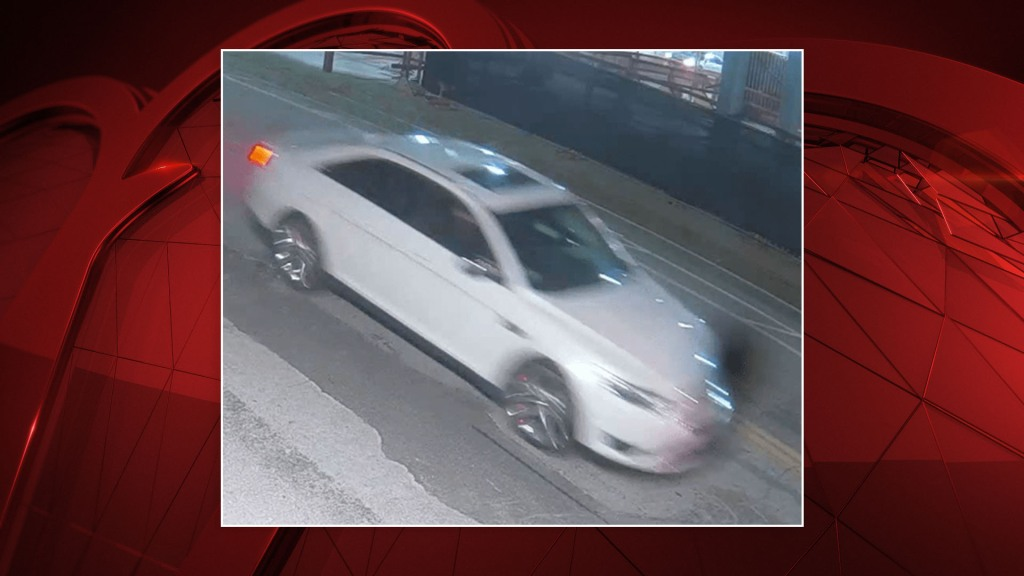 Police said surveillance video from nearby showed Urrea walking up to a white, four-door vehicle with a sunroof and custom wheels.