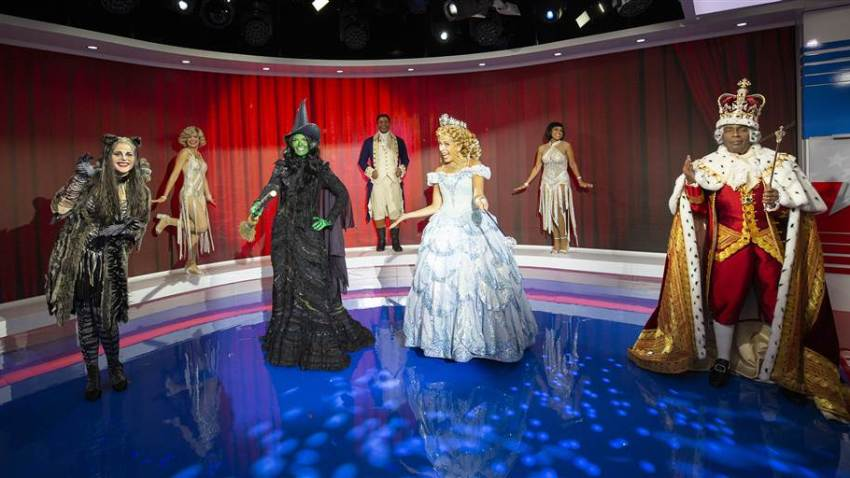 TODAY show hosts in their Halloween costumes.