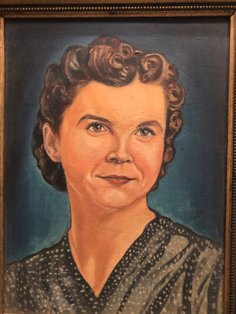 Portrait of Kim Powers' mother