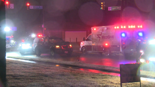 A man is hospitalized in critical condition after being struck by an SUV late Monday in South Fort Worth, police say.