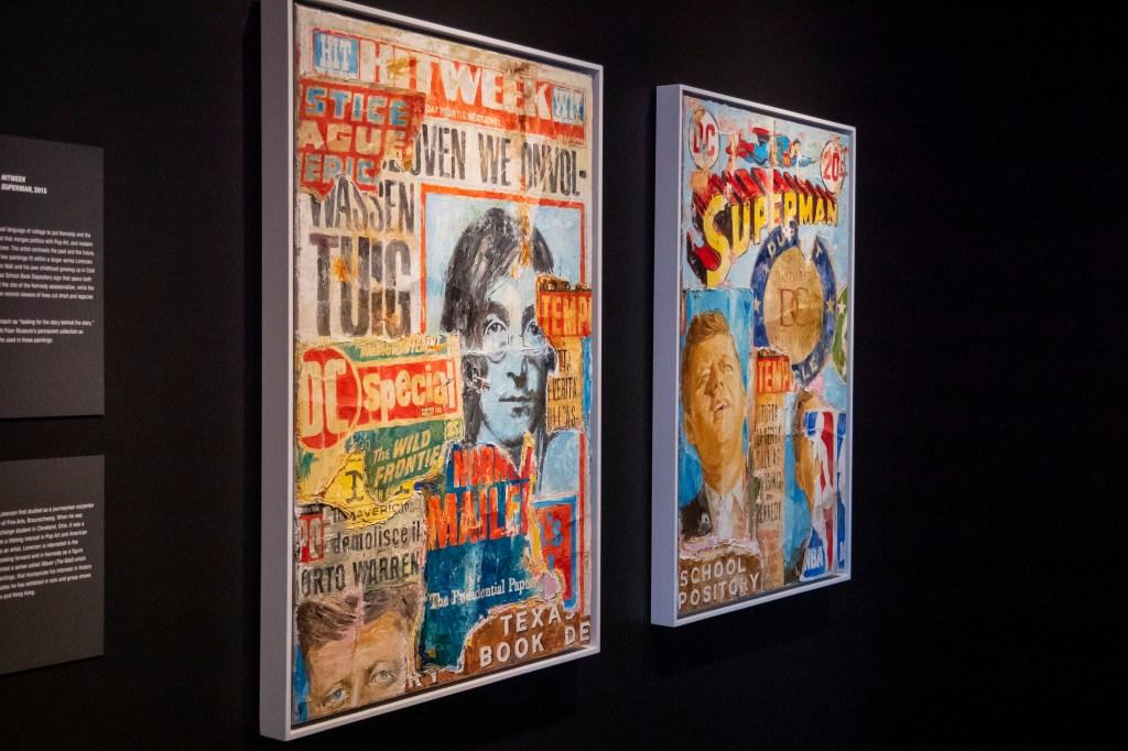 The Sixth Floor Museum Art Reframes History Lorenzen