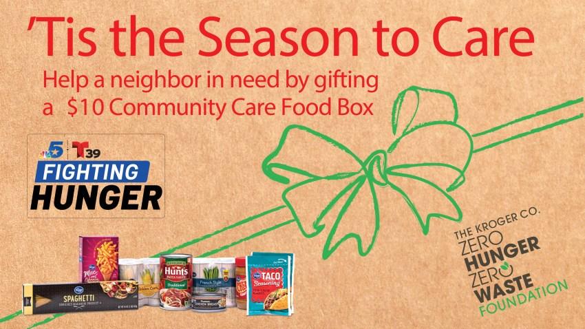 NBC 5 Fighting Hunger- Kroger Community Care Hunger Program 2020