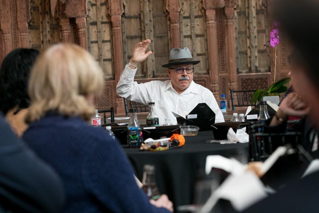 Eduardo Díaz at TACA Perforum Luncheon