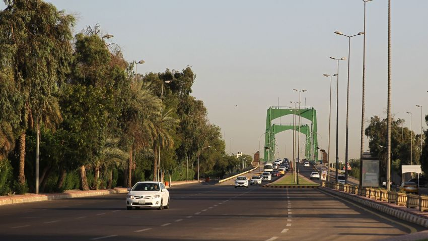 Iraqis drive in Baghdad's high-security Green Zone after all the main roads criss-crossing the enclave were opened on June 3, 2019. - The Green Zone, home to the Iraqi parliament and US embassy, fully reopened to traffic around the clock today, the government said. It has been heavily fortified since the US-led invasion that overthrew dictator Saddam Hussein in 2003, with nearly all Iraqis denied access to its 10 square kilometres.
