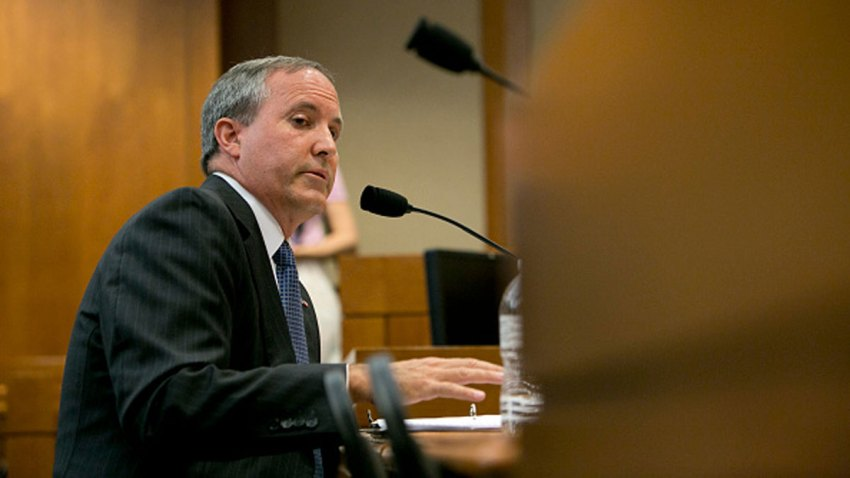 Texas Attorney General Ken Paxton testifies in front of the Senate Committee on Health and Human Services, just a few days before a grand jury indicts him on three felonies.Two charges of first-degree securities fraud and one count of third-degree failure to register.