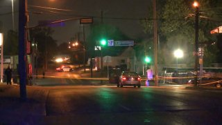 A 57-year-old man was shot and killed Saturday night while he sat in a vehicle in east Oak Cliff, Dallas police say.