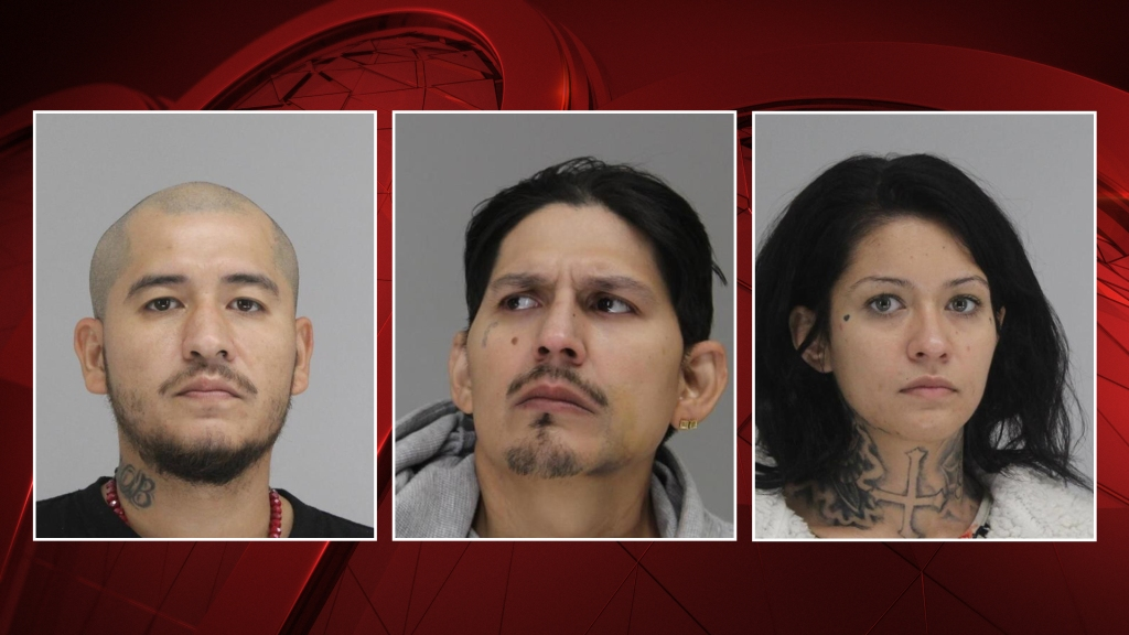 Pictured left to right: Edgar Mireles, 39; Hector Pina, 33; Adriana Christine Alvarado, 26.