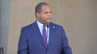Texas Gov. Greg Abbott announced state helicopters, planes and Texas Rangers are being directed to help Dallas police in the fight agaist the spike in violent crime. NBC 5's Ken Kalthoff reports this comes after Mayor Eric Johnson spoke out about crime and called the governor's office.