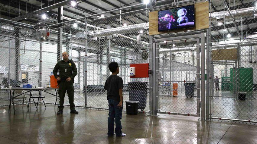 Niños migrantes en Estados Unidos